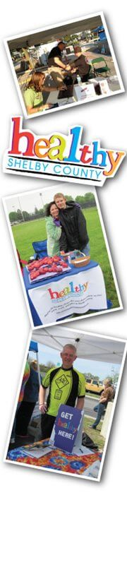 Collage of pictures from past Major Health Partners events