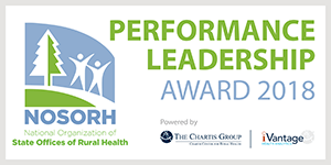 National Organization of State Offices of Rural Health Performance Leadership 2017 Award
