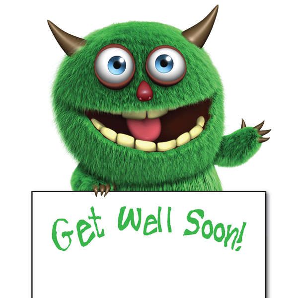 Get Well Soon - Monster